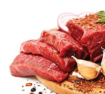 صدقات اللحوم