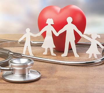 التأمين الطبي لأسرة محتاجة